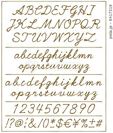 イラスト素材:手書き文字