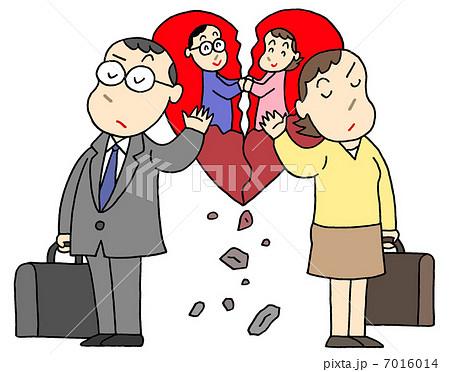 熟年離婚 7016014 熟年離婚のイラスト素材 [7016014] - PIXTA