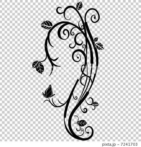 首页 插图 植物_花 玫瑰 玫瑰常春藤矢量  *pixta限定素材仅在pixta