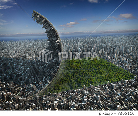 イラスト素材: 都市開発