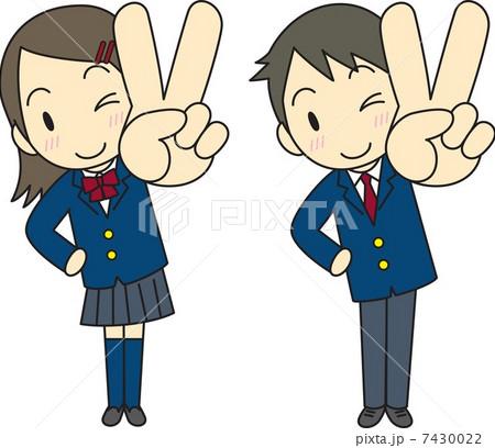 Vサイン 学生 ブレザー 7430022 Vサイン 学生 ブレザー Vサイン 学生 ブレザーのイ