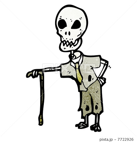 Cartoon Funny Skeleton