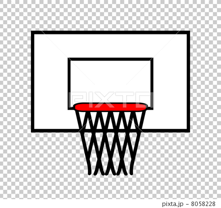首页 插图 运动_运动 篮球 篮筐 球门网 篮筐 剪贴画  *pixta限定素材