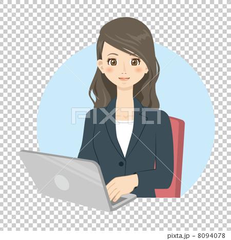 首页 插图 人物 男女 情侣/夫妻 白领ol 办公室女郎  *pixta限定素材