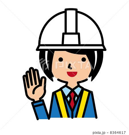 交通警衛 保安 女士  交通警衛 保安 女士 交通警衛 保安 人類   交通警衛 插圖素材