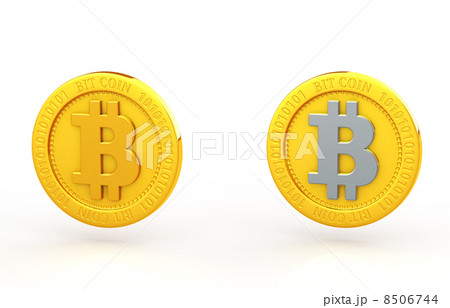 ビットコイン 8506744  ビットコイン  ビットコインのイラスト素材 [8506744]