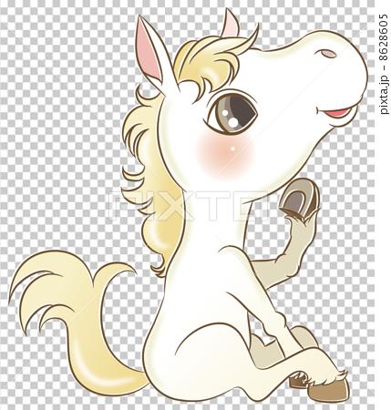 图库插图: 小马 驹马