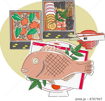 年夜饭-插图图库