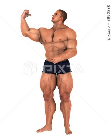 格闘家 8990830  格闘家  サムネイル表示に戻す 画質を確認 格闘家のイラスト素材 [8