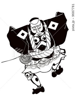 歌川国貞 奴凧のイメージイラスト 羊、門松、奴凧と富士山 富士山と門松と奴凧 歌川国貞 奴凧のイ