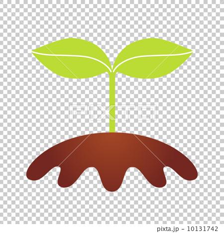 插图素材: 新芽的例证