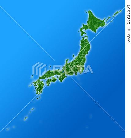 日本列島 日本列島 日本列島のイラスト   日本列島の写真・イラスト素材