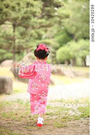 小女孩 日式发型 和服-图片素材 [10420299] - pixta