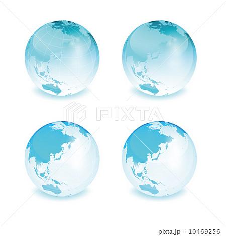 地球儀 地球儀 地球儀   東南アジアのイラスト素材