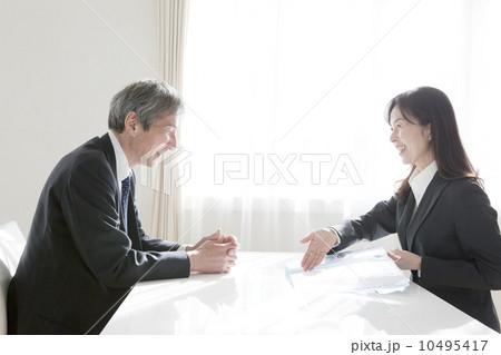 商业 谈判 业务洽谈-图片素材 [10495417] - pixta