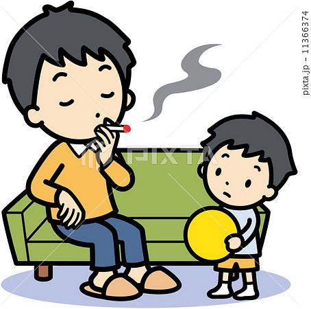 受動喫煙 11366374 受動喫煙のイラスト素材 [11366374] - PIXTA