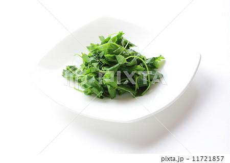 三つ葉のお浸し 三つ葉のお浸し 菜の花のおひたし    お浸しの写真素材