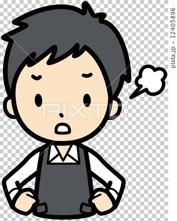 图库插图: 矢量 生气 发怒