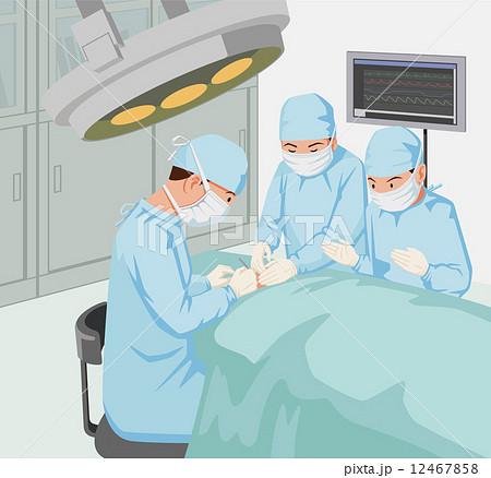 手術シーンのイラスト素材 [1246...