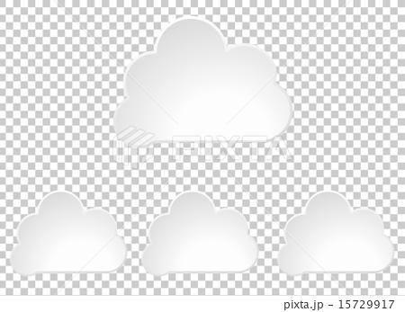 商务_工作 商务用品 用品 云计算 矢量 计算机图形  *pixta限定素材仅