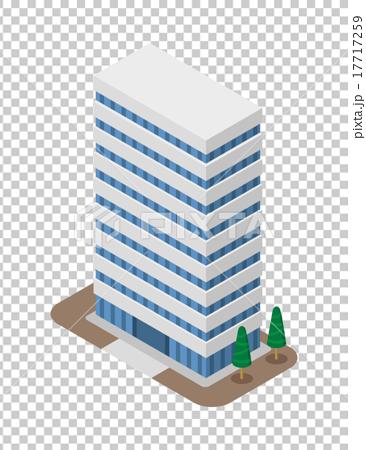 图库插图: 建筑 矢量 办公楼