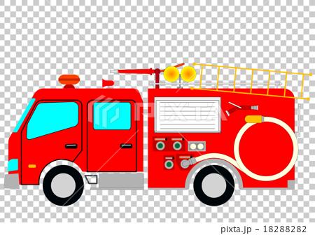 图库插图: 救火车 消防车 灭火