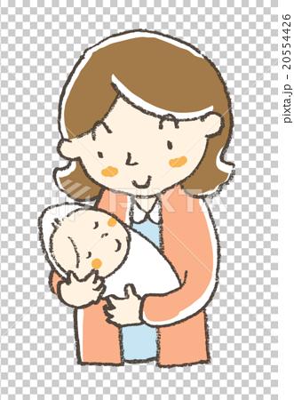 孩子 首页 插图 人物 女性 母亲 妈妈 儿童 孩子  *pixta限定素材仅在