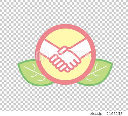 行为_动作 握手 摇动 握手 图标  *pixta限定素材仅在pixta网站,或