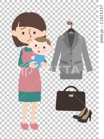 图库插图: 父母身份 父母和小孩 西服