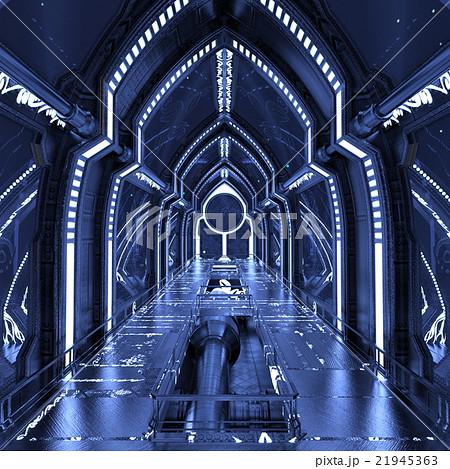 宇宙ステーション 21945363 宇宙ステーションのイラスト素材 [21945363] - P