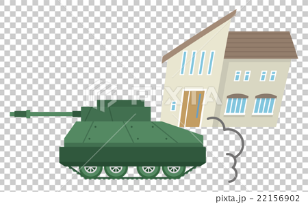图库插图: 坦克 战争 矢量