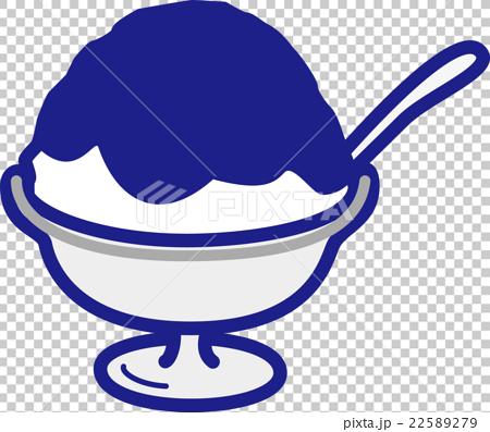 图库插图: 矢量 刨冰 冰