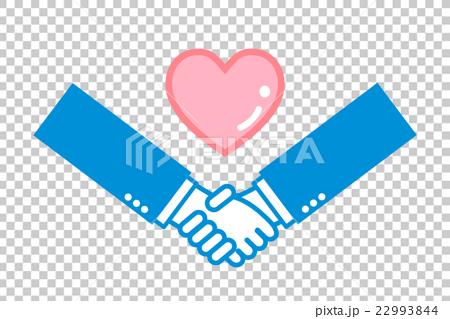 身体_身体部分 手 摇动 握手 图标  *pixta限定素材仅在pixta网站,或