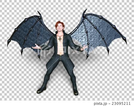 插图素材: 吸血鬼