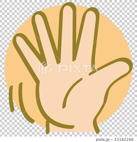 脸部_身体 身体_身体部分 手 石头剪刀布 手 平价  *pixta限定素材仅