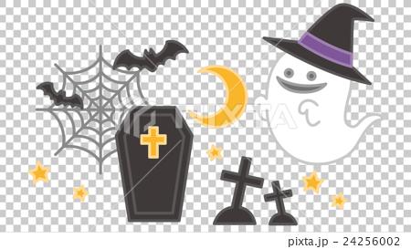 图库插图: 矢量 万圣节 鬼怪