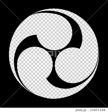 图库插图: 家族徽章 军事指挥官 三角标志