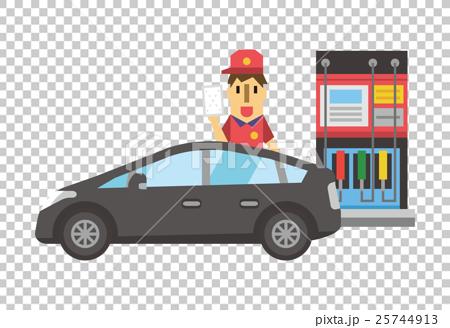 插图素材: 矢量 加油站 男人图片