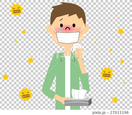 插图素材: 花粉过敏 花粉 过敏反应
