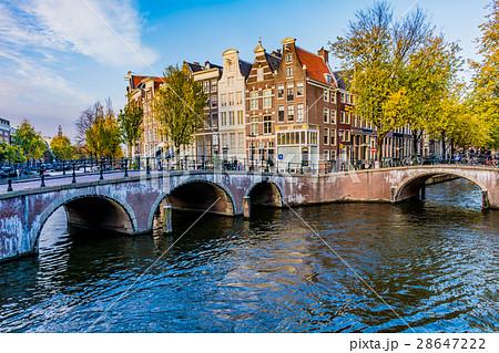 アムステルダムの運河の画像 p1_30
