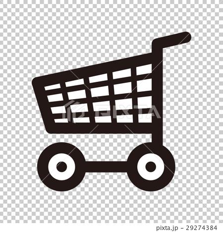 其他交通工具 购物车 购物车 手推车 图标  *pixta限定素材仅在pixta