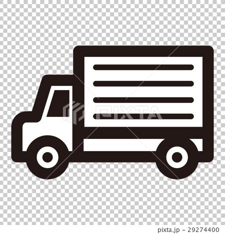 插图素材: 卡车 图标 icon