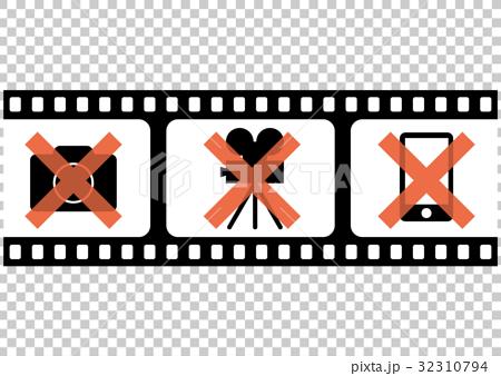 插图 休闲_爱好_游戏 爱好 摄影 电影 电影院 胶卷  *pixta限定素材仅