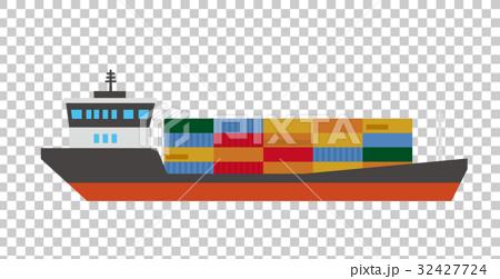 武术_格斗 职业摔跤 集装箱船 矢量 集装箱  *pixta限定素材仅在pixta