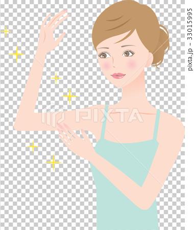 图库插图: 手臂 臂 女性