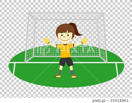 图库插图: 足球 守门员 管理人图片