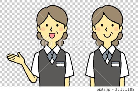 销售人员_客户服务 店员 店员 售货员 人  *pixta限定素材仅在pixta