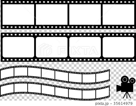 图库插图: 电影 胶卷 影片
