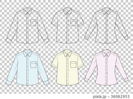 衬衫的简笔画画法步骤