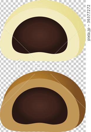 图库插图: 矢量 甜馒头 包子